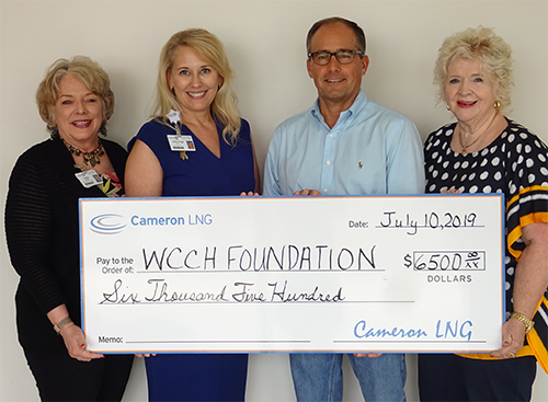 WCCH Foundation Receives Grant From Cameron LNG 2019